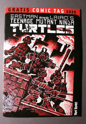 Teenage Mutant Ninja Turtles #1 First Print German Free Comic Book Day Version • 10.66£