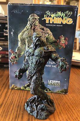 "Vertigo Swamp Thing Figure Porcelain 5.75"" Miniature Statue #2226/2500 DC Comics • 107.29£"