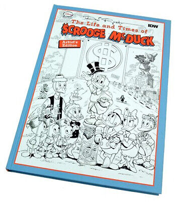Don Rosa's The Life And Times Of Scrooge McDuck Vol.1: Artist's Edition SIGNIERT • 303.85£