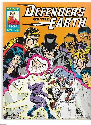 Marvel Comic, Defenders Of The Earth • 8£