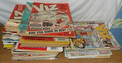 Huge Viz Adult Comic Collection 69 Issues Nos 40 To 114 (5 Missing) + 20 & 38  • 0.99£