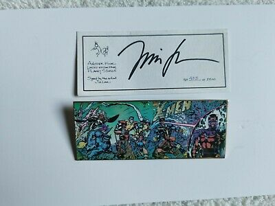 Jim Lee Planet Studios X Men Pin Signed Limited 403 Of 2900 • 59.99£