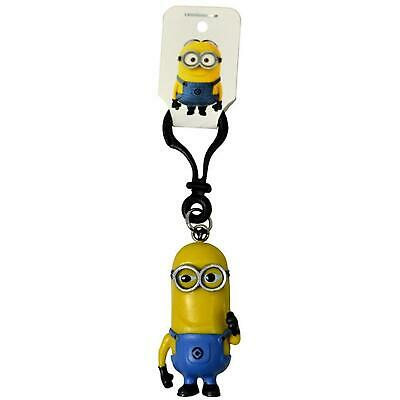 Despicable Me Minion 3D Clip Ons Bag Keyring Keys Universal Studios New Keychain • 5.89£