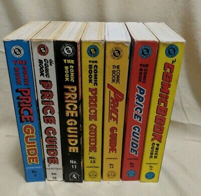 Overstreet Comic Book Price Guide Lot #9 - 15 (1979-1985) 7 Volumes FREE SHIP • 57.50£