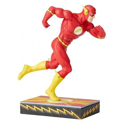 The Flash Jim Shore DC Silver Age Statue  Free Uk Shipping • 38.99£