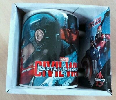 Official Marvel Captain America Ceramic Mug.collectable ..new & Boxed • 6.95£