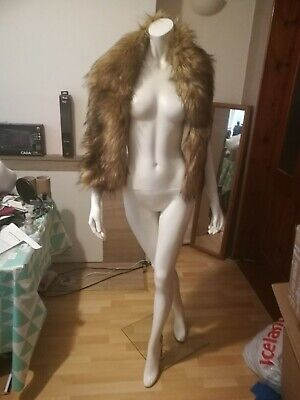 Mixed Brown Fur Neck • 14.98£