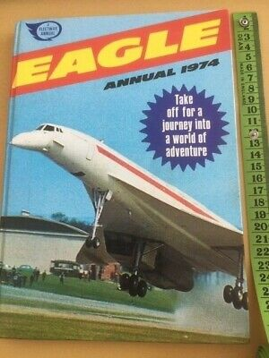 Eagle Annual 1974: Published By Ipc Magazines Ltd - A Fleetway Annual. • 3.90£