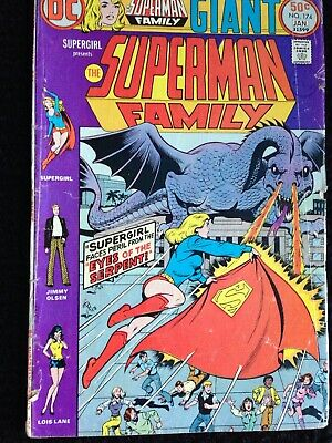 Supergirl Presents The Superman   Family Giant  # 174 DC Comics • 2.50£