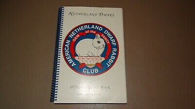 Netherland Dwarf Rabbit Official Guide Book Fifth Edition 1991 • 11.22£