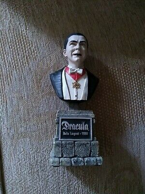 Bela Lugosi Sideshow Collectibles The Legacy Collection Dracula Bust Statue 2004 • 40£