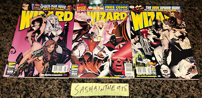 Wizard Comics Magazine Lot Of 3 1999 Variant Covers South Park Hughes June July • 21.84£