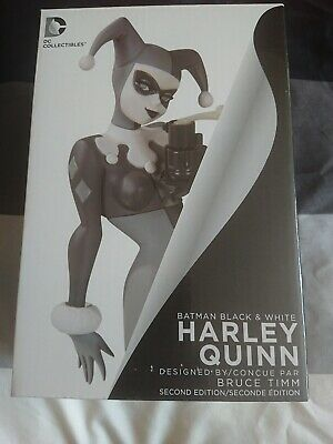 Harley Quinn Batman Black & White Statue 2nd Edition • 35£