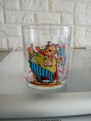 Asterix And Obelix Drinking Glass  X1 From Nutella  • 4.99£