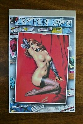 Cry For 'Dawn' SIGNED By Joseph Linsner (Artist And Creator)  • 49.99£