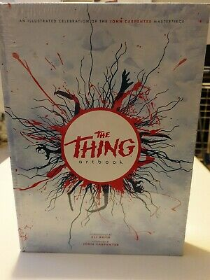 The Thing Limited Edition Printed In Blood Artbook (ISBN: 9780998865201) *NEW* • 66.99£