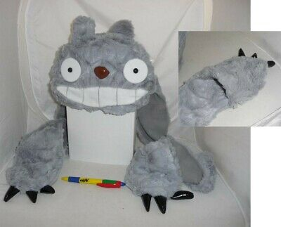 Combo Hat Con Scarf Hand Warmers Totoro Japan Anime Manga New Cosplay • 13.01£