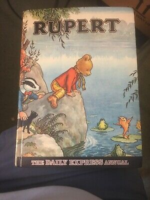Collectable Rupert Bear The Daily Express Annual 1969 • 12£