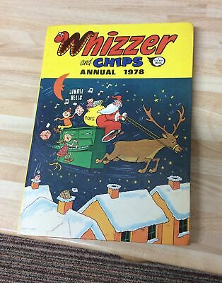 1978 Whizzer And Chips Annual • 2£