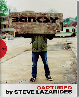 BANKSY CAPTURED Vol. 1 - 1st EDITION - LIMITED - 4952/5000 - By STEVE LAZARIDES • 119.99£