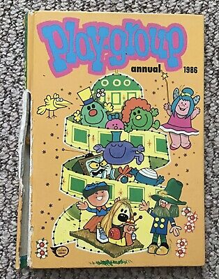 1986 Original Playgroup Annual Hardback Book • 1.50£