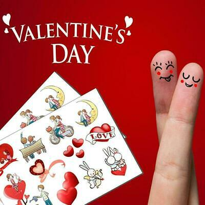 1*Sticker Trendy Girl Valentine's Day Gift Stickers Stickers Day O8J7 • 1.95£