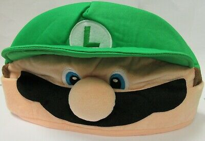 Hat Luigi Da Supermario Green One Size Costume Fancy Dress • 11.72£