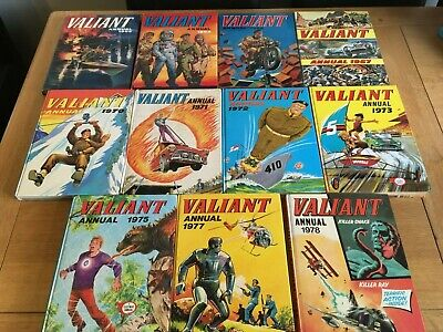 Valliant Annual Collection 11 Issues • 33£