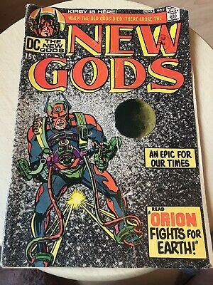 Comic 1st Appearance No. 1 Rare New Gods March 1971 • 36£