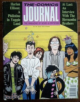 The Comics Journal 126, The Hernandez Brothers, Fantagraphics, January 1989 • 18.99£