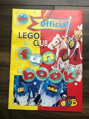 Vintage 1990's The Official Lego Club Fun Book, Complete & Unused • 4.99£
