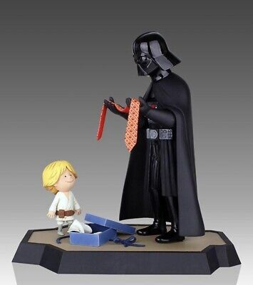 Star Wars Gentle Giant Statue Darth Vader & Son (Luke) Maquette With Book • 399.99£