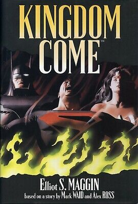 Kingdom Come. Signed By Maggin,Ross & Waid. Slipcased Hardback First Print • 129.99£