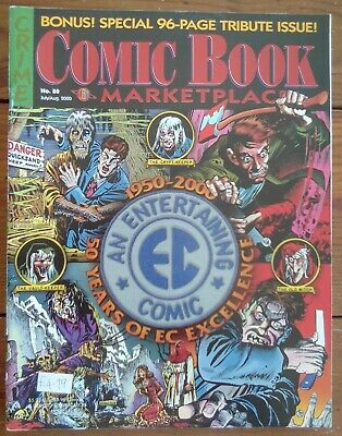 Comic Book Marketplace 80, Ec Comics Special, Gemstone, July/august 2000, Vf • 11.99£