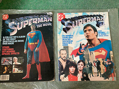 Superman Movie Magazines 1 And 2 Christopher Reeve  • 0.99£