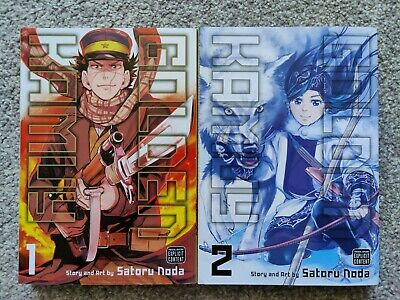 Golden Kamuy Book Volume 1 And 2 • 5.50£