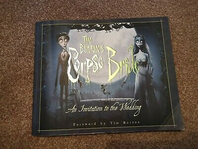Corpse Bride - Invitation To The Wedding Art & Making Of Book • 8.50£