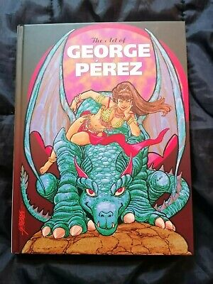 VF+ (2011) THE ART OF GEORGE PEREZ (HB, Signed #94/400) IDW • 104.99£