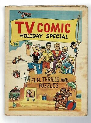 Tv Comic Holiday Special Comic 1964  1'6 • 39.99£