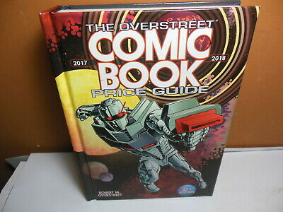 OVERSTREET 2017 2018 COMIC BOOK PRICE GUIDE #47 HARDCOVER Rodriguez ROM Cover HC • 19.16£