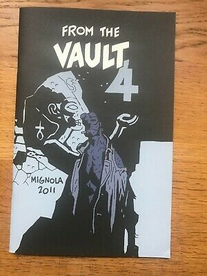 Mike Mignola From The Vault 4 2011 Sketchbook Signed And Numbered 446/1200 • 35£