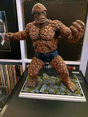 The Thing Fantastic Four Model. Fully Painted. Marvel. Horizon. 1/6. Rare. 1991 • 70£