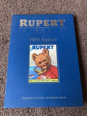 Rupert Facsimile Annual 1959. Ltd Edition With Certificate Of Authentication. • 7£