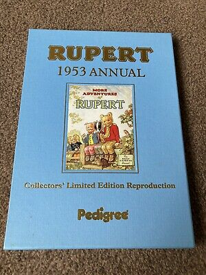 Rupert Facsimile Annual 1953. Ltd Edition With Certificate Of Authentication. • 7£