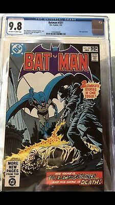 Batman - #331 - January 1981 Issue. CGC Official Grade 9.8 NM. DC Comic • 89.95£