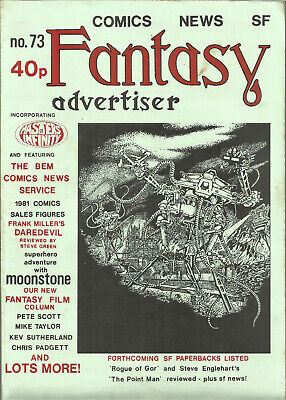 Fantasy Advertiser Comics News SF - Number 73 Masters Of Infinity (FN) W282 • 9.99£