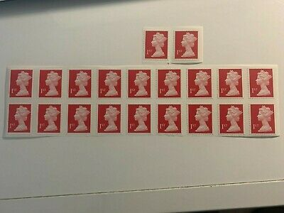 20 X First Class Royal Mail Stamps. Easy Peel. RRP £17-Brand New Unused • 0.99£