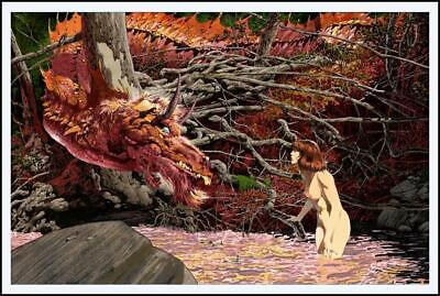 BERNIE WRIGHTSON - YOU'RE NEW HERE - Signed Limited Edition Print - Glow In Dark • 277.82£