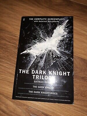 Christopher Nolan - The Dark Knight Trilogy Screenplays • 8£
