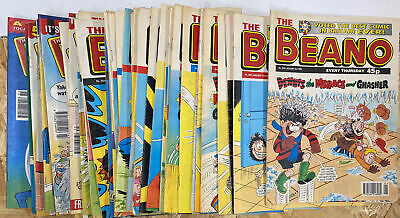 The Beano Comic 1998 Complete Full Year Of 52 Issues 2894 To 2945 Inclusive • 5£